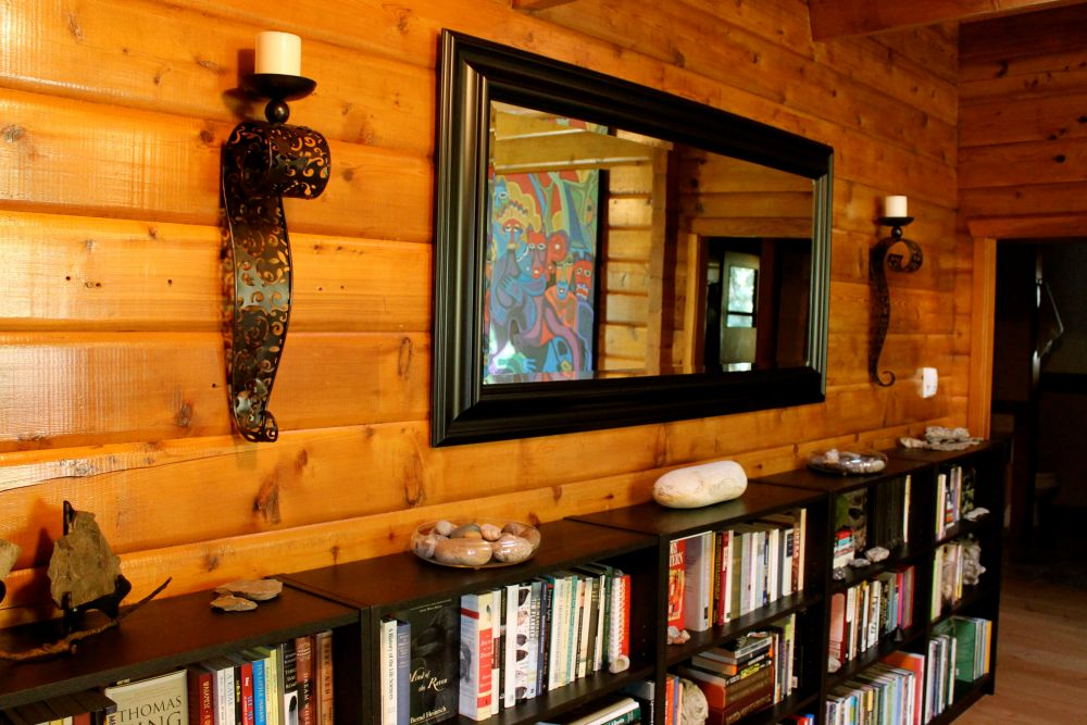 the joys and challenges of log cabin interior design (2/6)