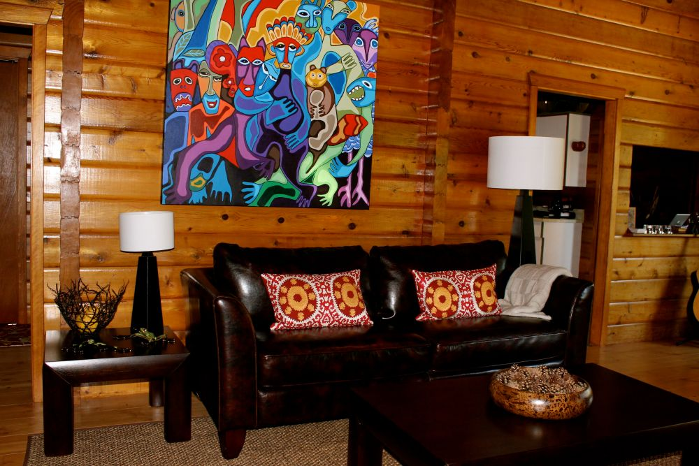 the joys and challenges of log cabin interior design (3/6)