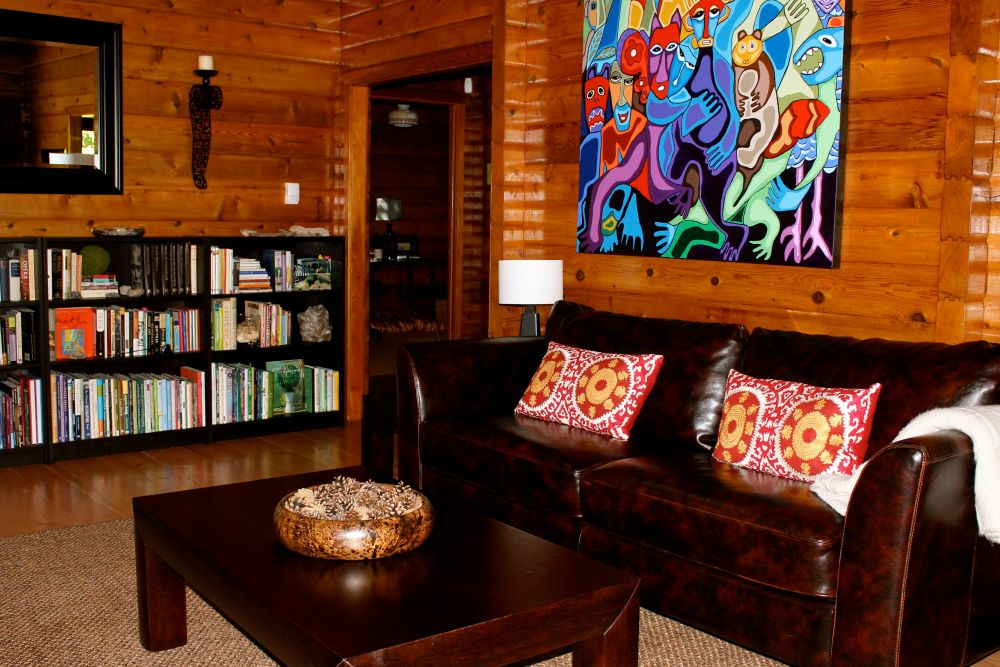 the joys and challenges of log cabin interior design (1/6)