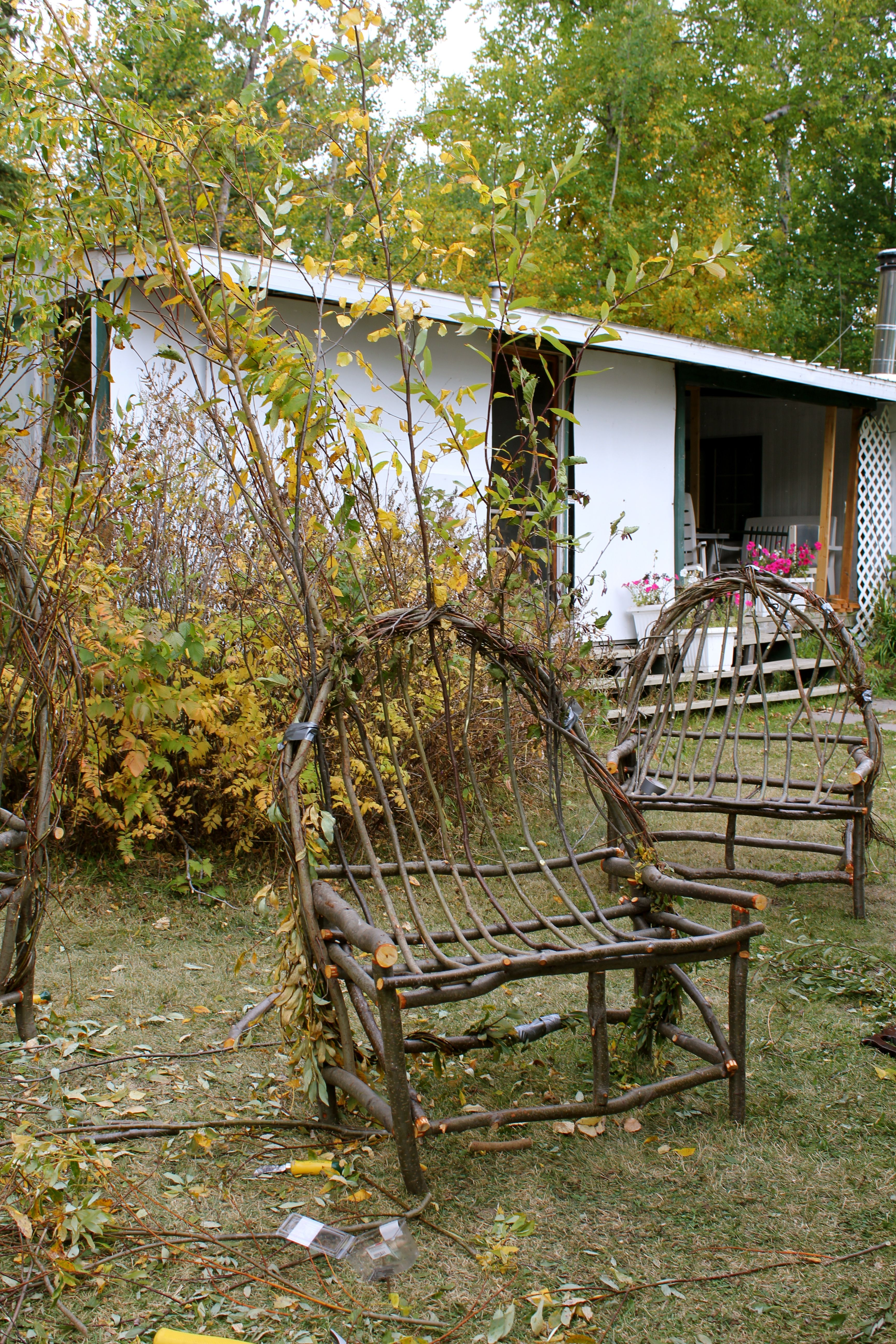 Bent Willow Furniture Cabinorganic