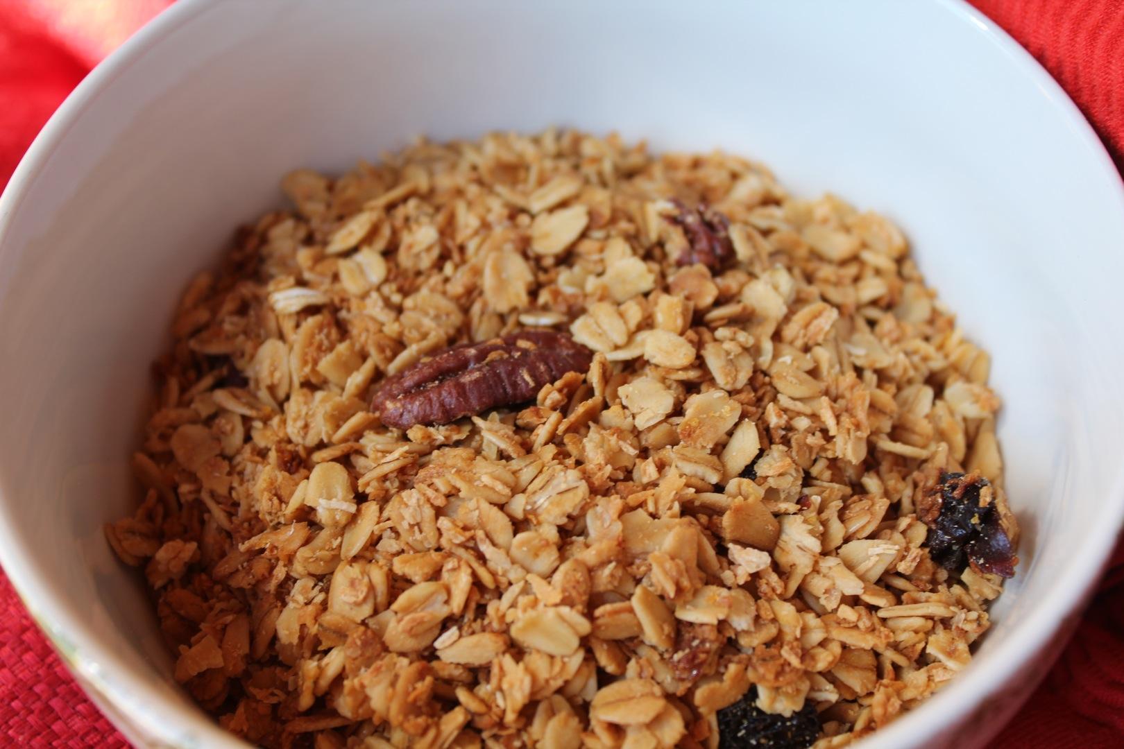 homemade granola- there is no turning back! | cabinorganic