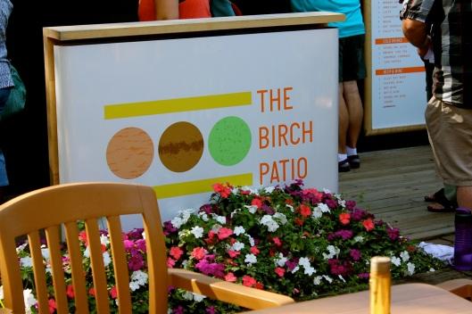 The Birch Patio