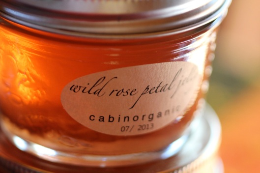 wild rose petal jelly