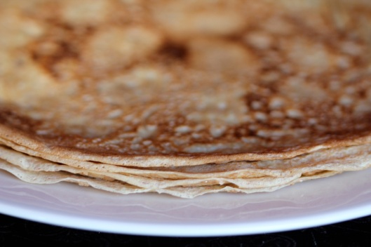 spelt crepes